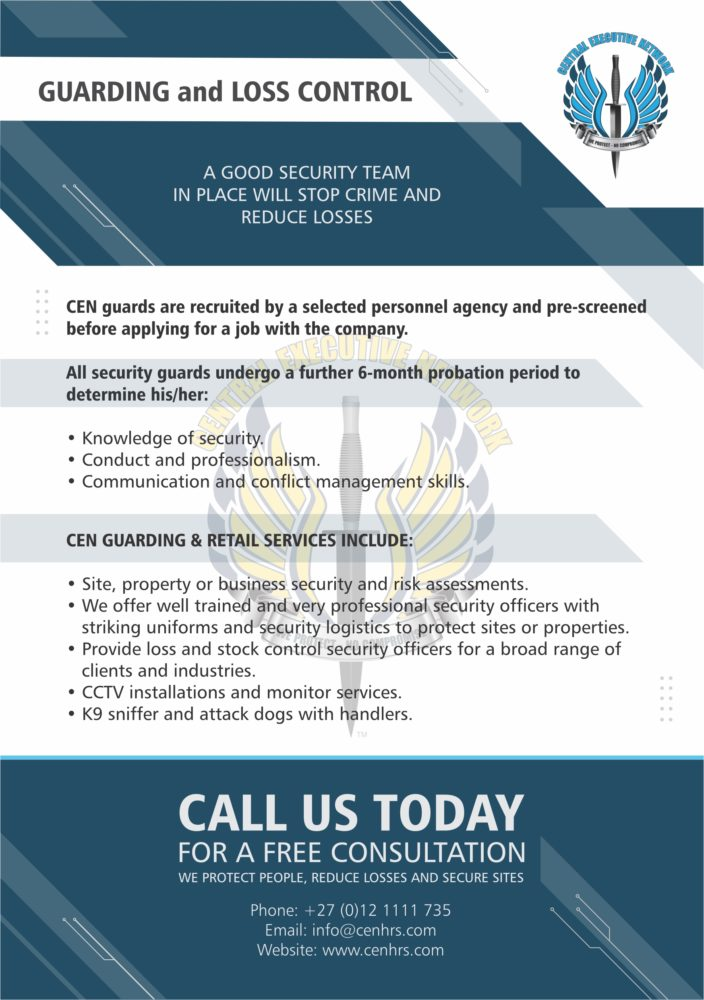Central Executive Network,HRS Security,security service,security companies,vip protection,private security,security guard services,bodyguard services