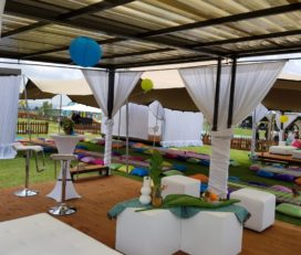 Stretch tent and decor hire specialists