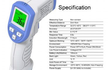 Non Contact Digital Infrared Thermometer supplies
