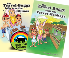 Travel Buggz Children's Story Books